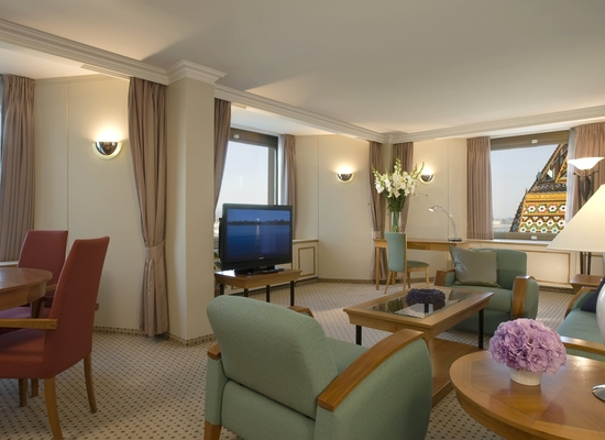 Основное здание - King Danube River Suite