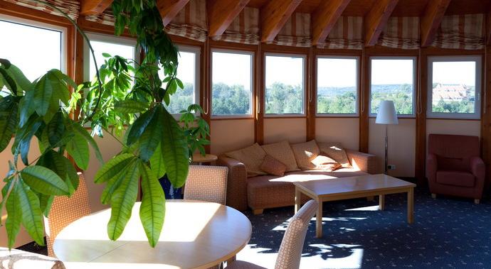Основное здание - Panoramic room with terrace