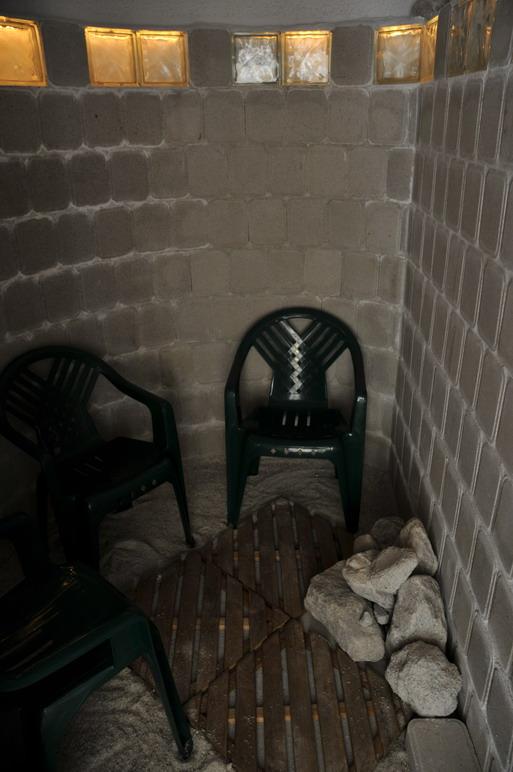 Пещерная ванна